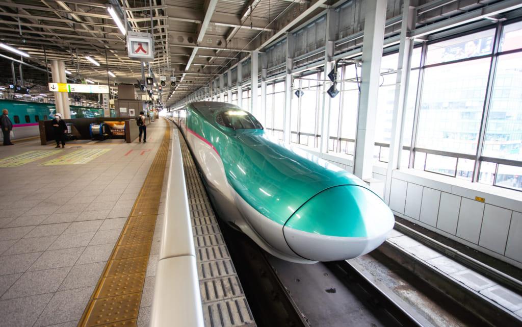 The Hokkaido Shinkansen Line.