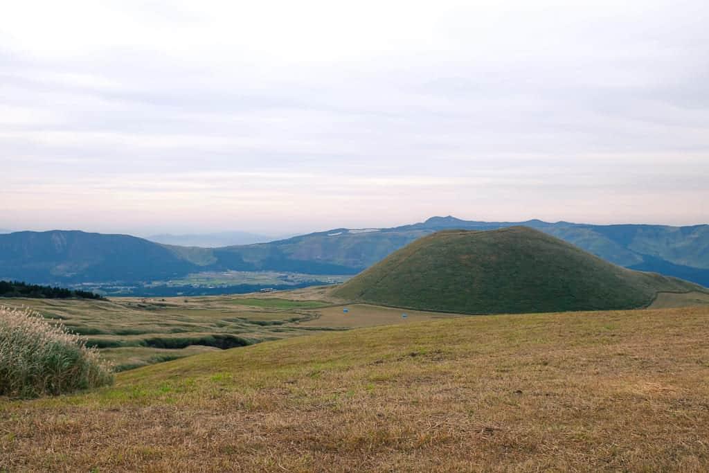 aso, kumamoto landscape in Japan