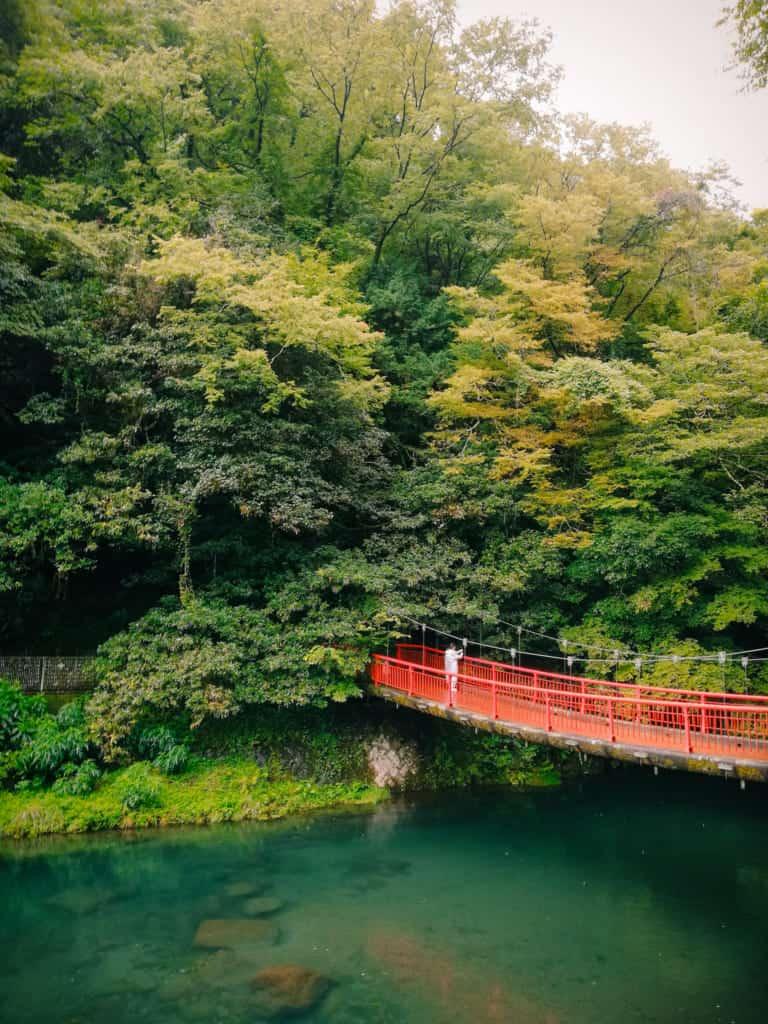 Kikuchi Gorge, Kumamoto, Kyushu Japan