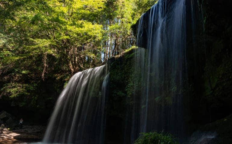 Nabegataki Waterfall, Kumamoto, Japan