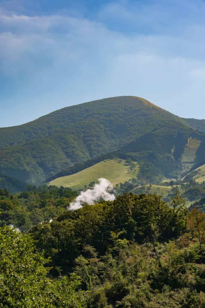 Mt. Waita in northern Kumamoto, Kyushu