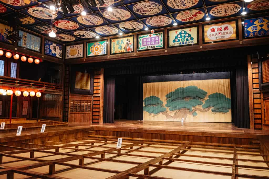 A Theater and Show Preserving the Past in Yamaga, Kumamoto
