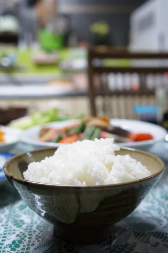 A bowl of fluffy rice