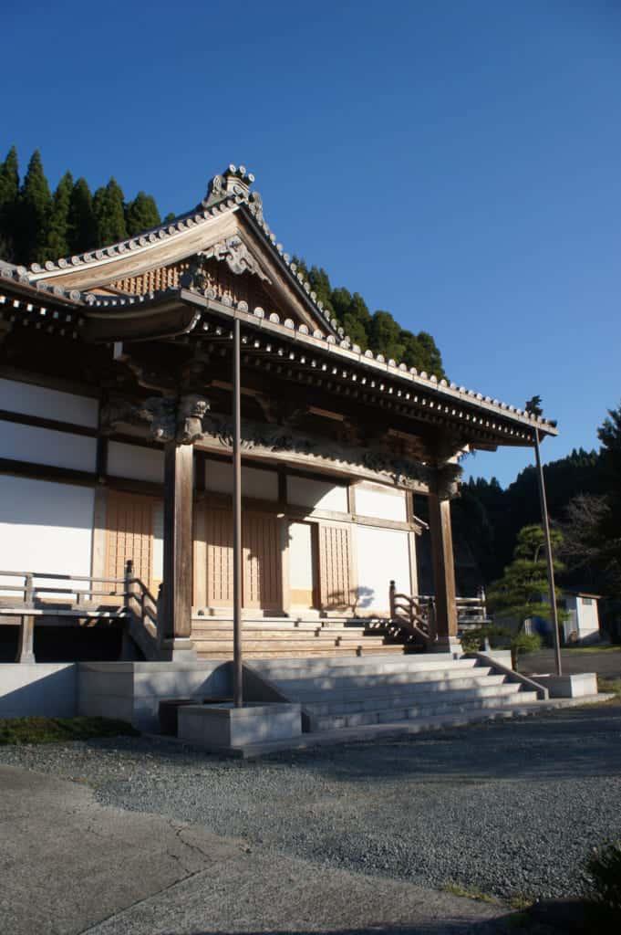 Zenriyuji temple in Kikuchi