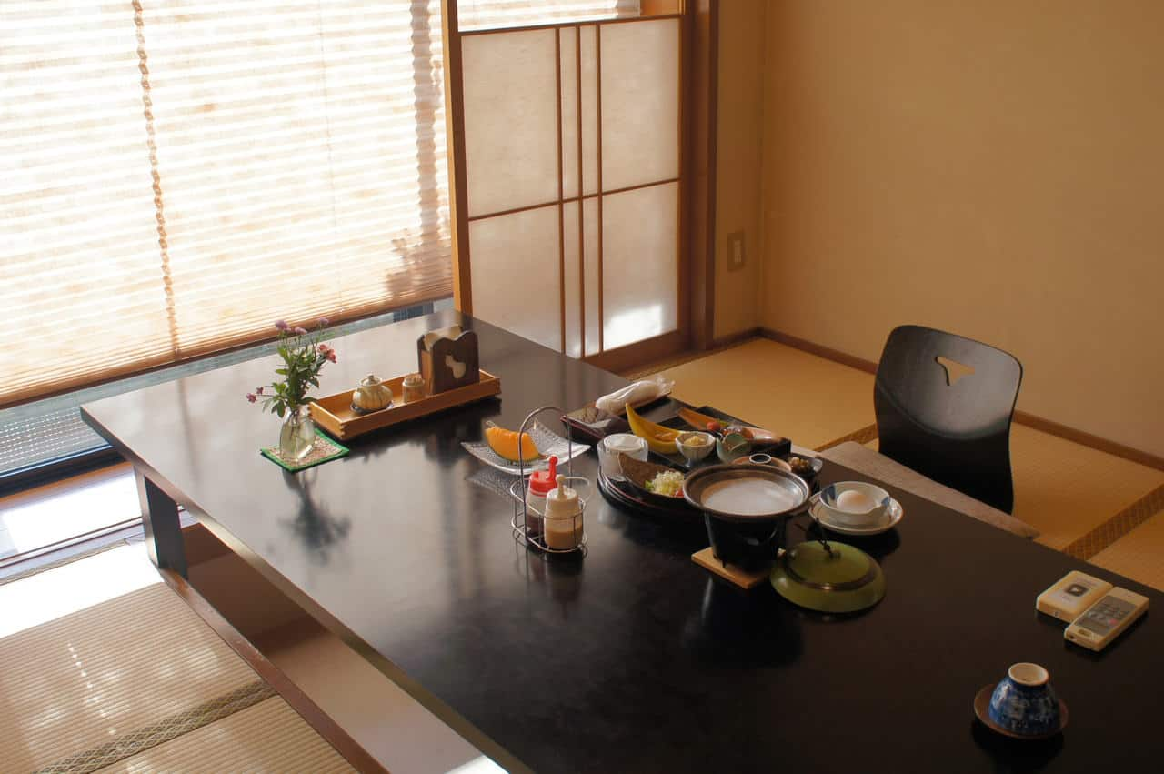 Luxury stay in a ryokan with a private bath in Yamaga Onsen
