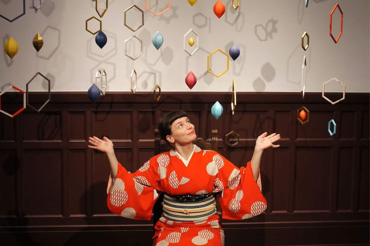 Yamaga: Strolling the City of Lanterns in a Vintage Kimono