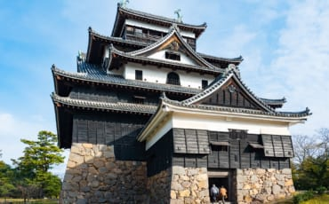 Outside view of Matsue Castle