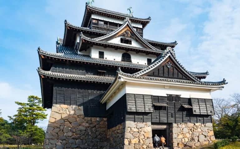 Outside view of Matsue Castle