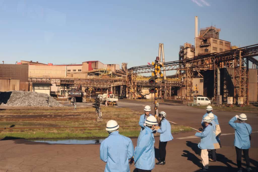 JFE Steel Factory, Kawasaki Coastal area in Kawasaki, Kanagawa