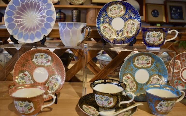 Elaborate styles of Arita ceramics