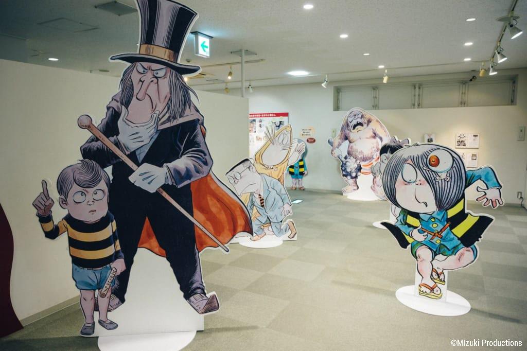 Inside Mizuki Shigeru Museum