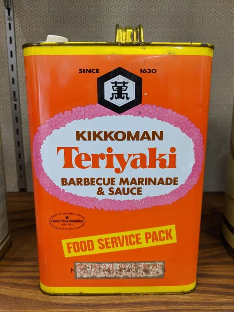 A Canister of Kokkiman Teriyaki Sauce