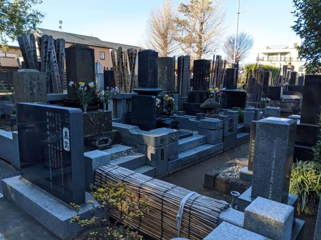 Graveyard in Nagareyama