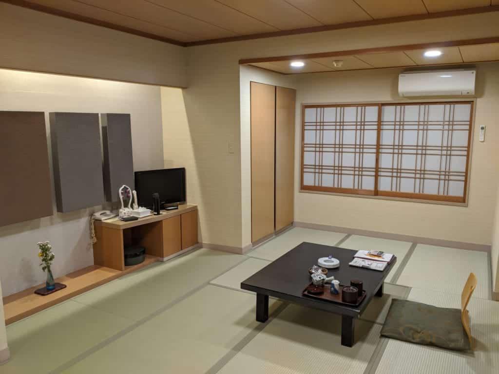 Tatami Room at Tsukubasan Edoya