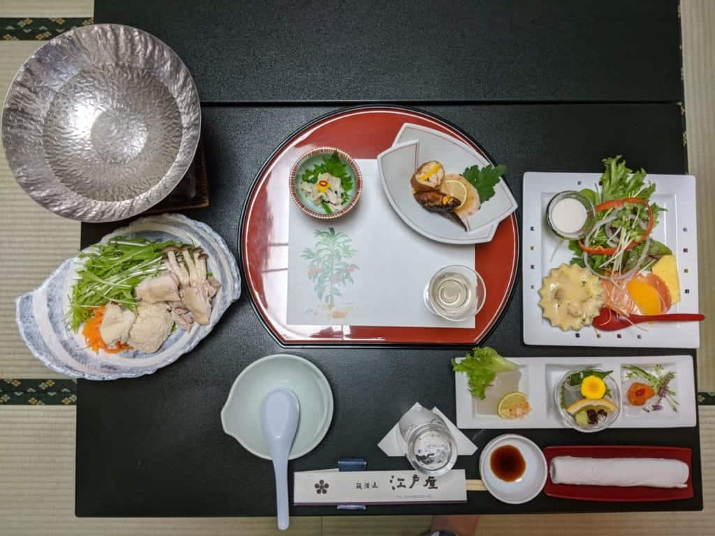 Dinner at Tsukubasan Edoya