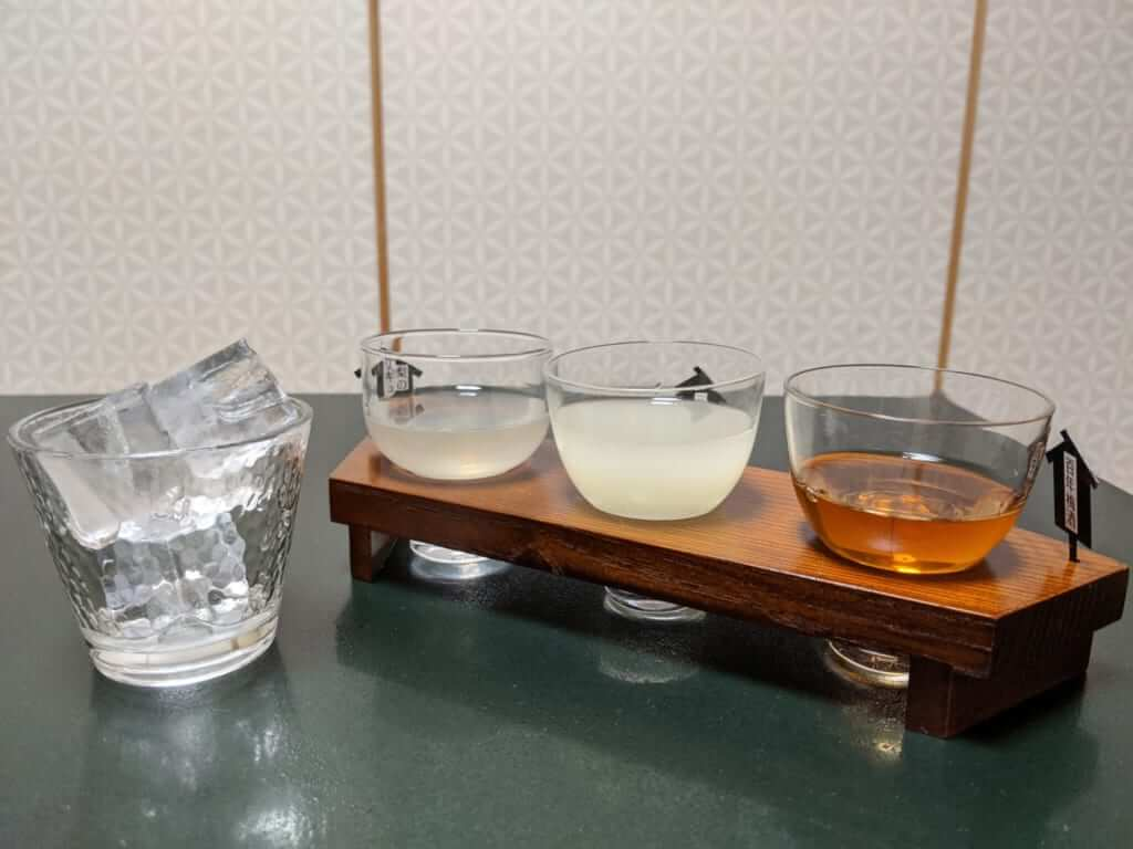Sake Selection with Dinner at Tsukubasan Edoya