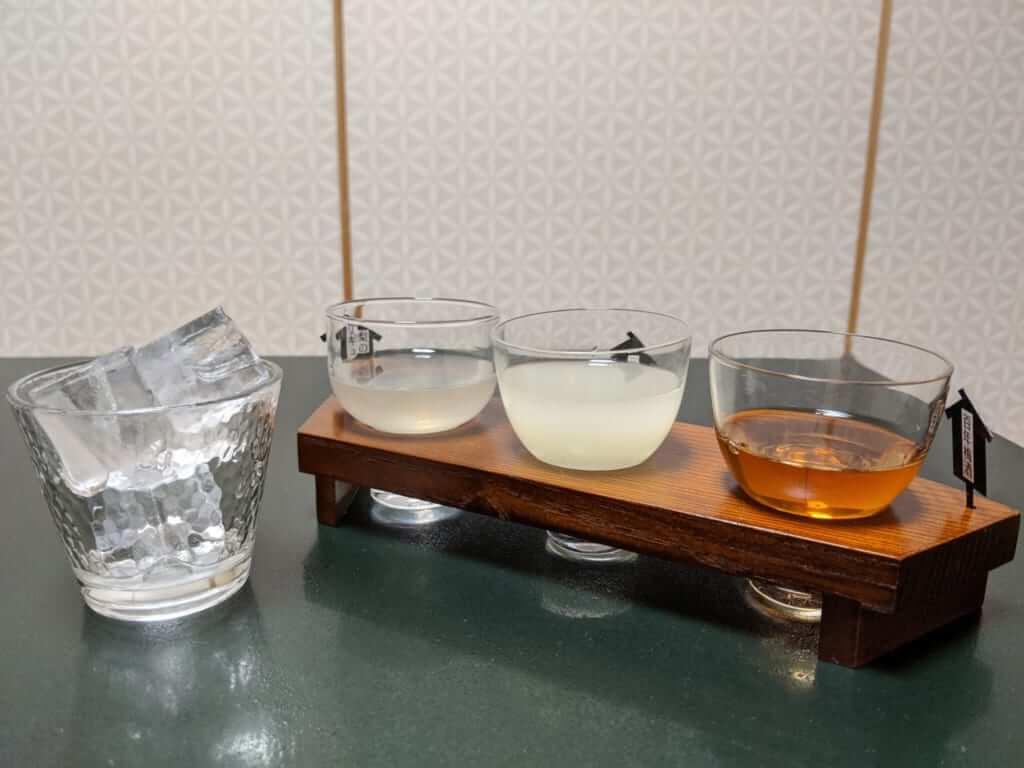 Sake Selection with Dinner at Tsukubasan Edoya