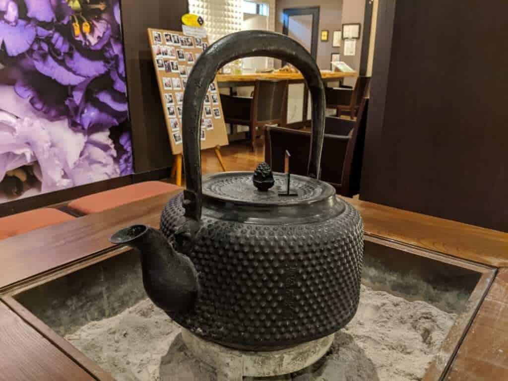 Tea Pot Decoration at Tsukubasan Edoya