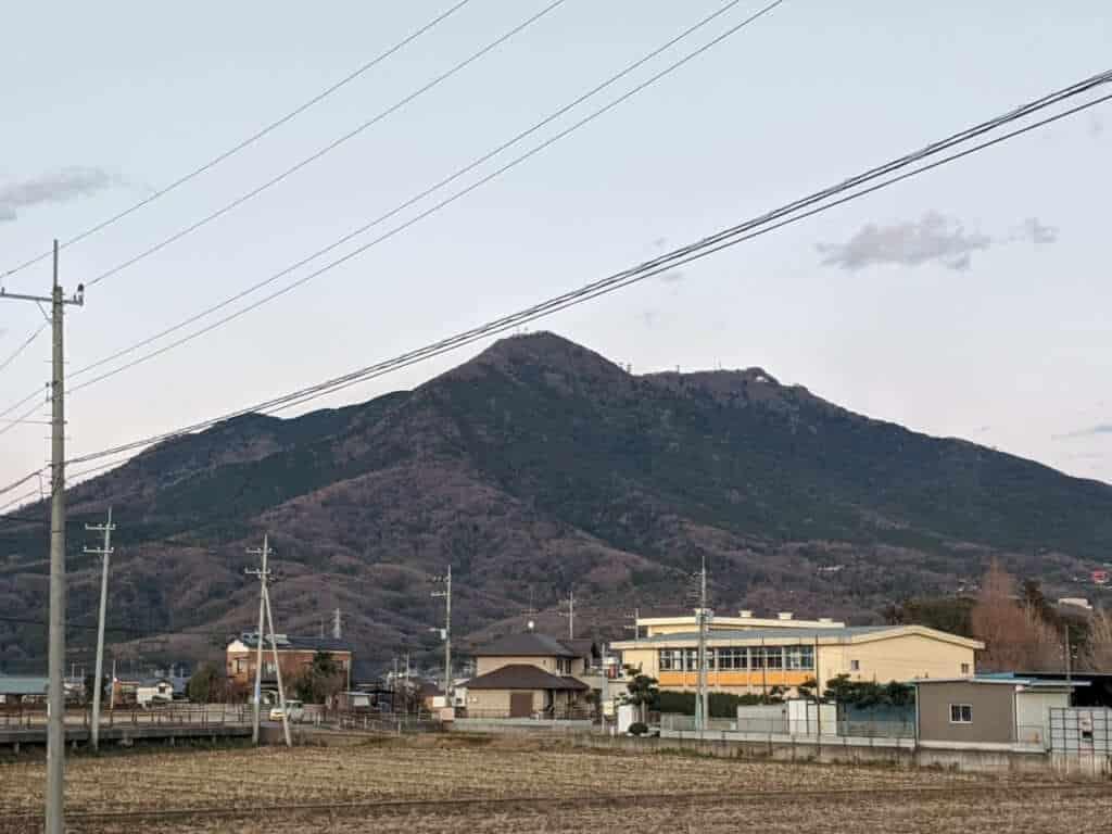 Mt. Tsukuba in Ibaraki Prefecture
