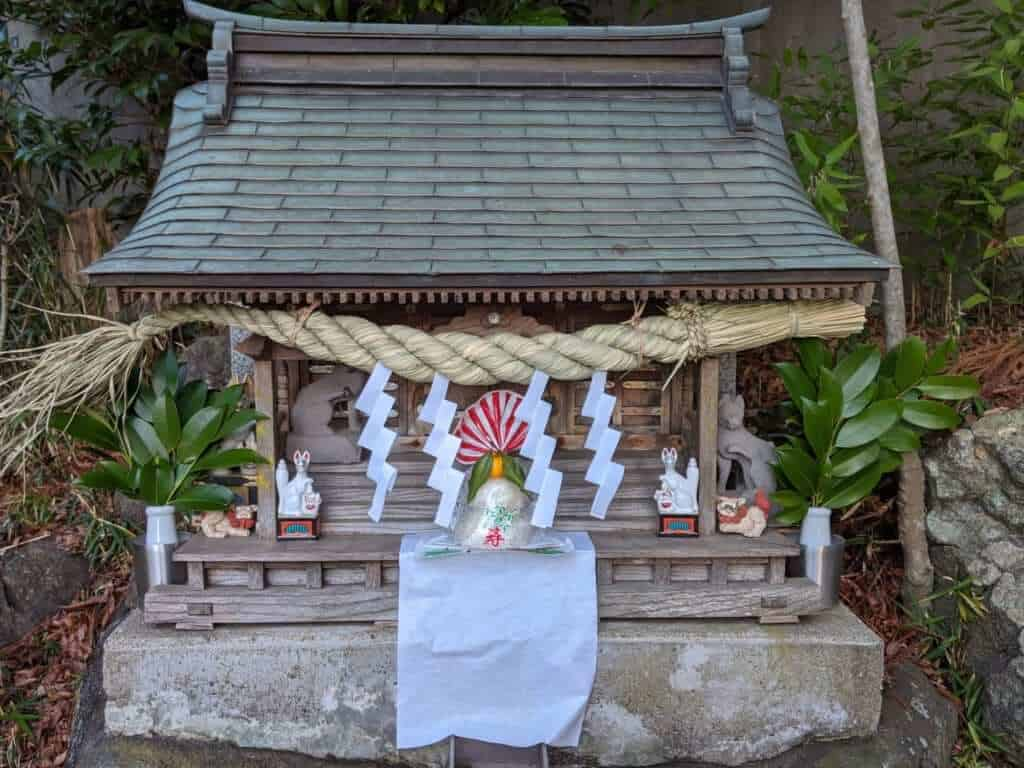 A Smaller Shinto Shrine near Tsukuba Shrine