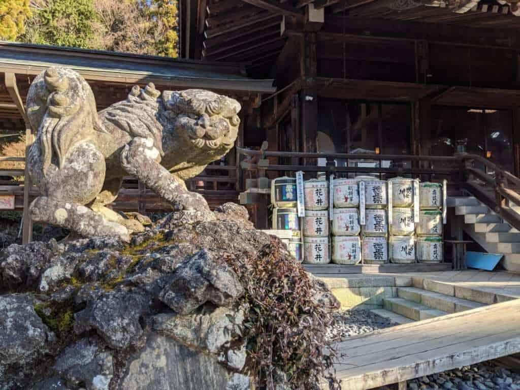 Guardian Statue at Tsukuba Shrine