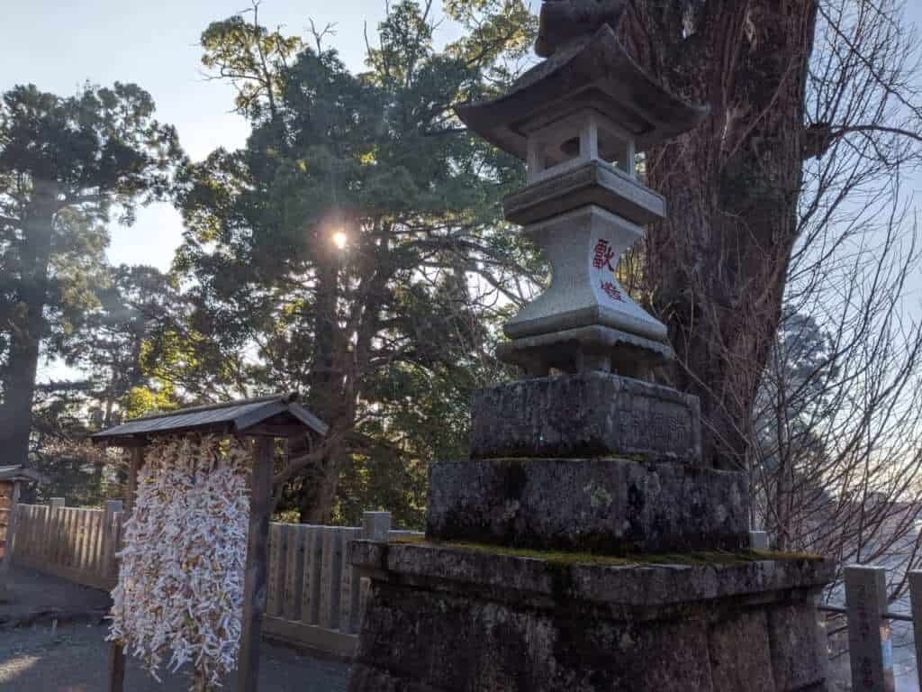 Prayers and Tsukuba Shrine Decorations