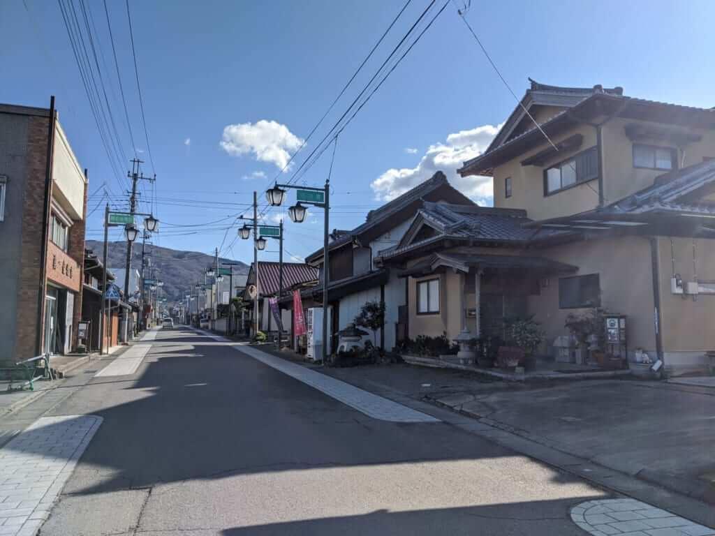 Makabe Street in Sakuragawa