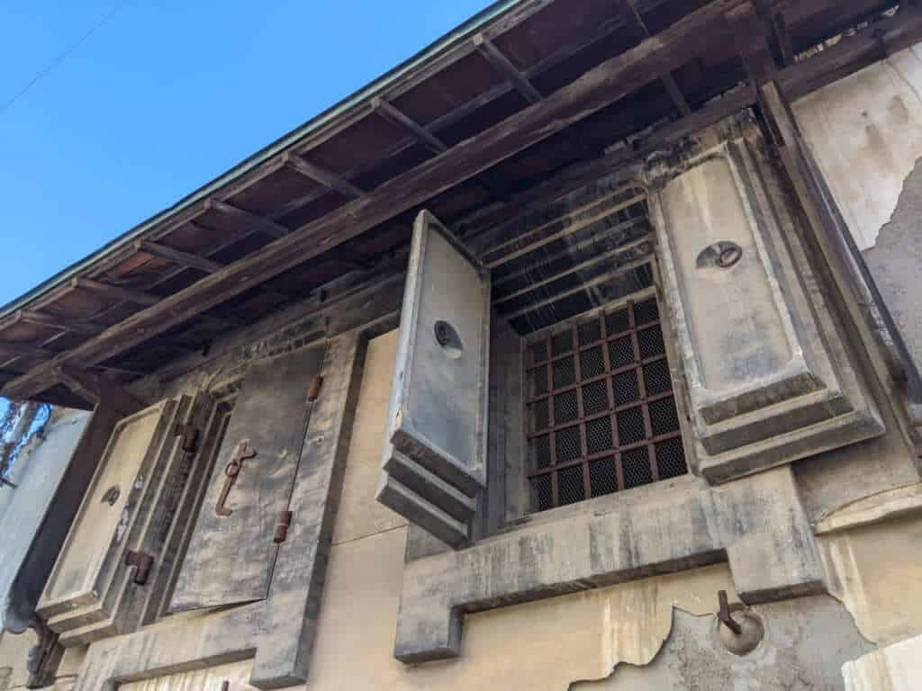 An Historical Building in Sakuragawa, Ibaraki
