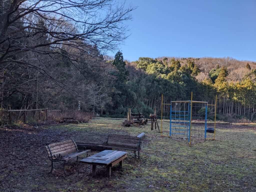 A Playground for Children at Gosho Komagataki Shrine