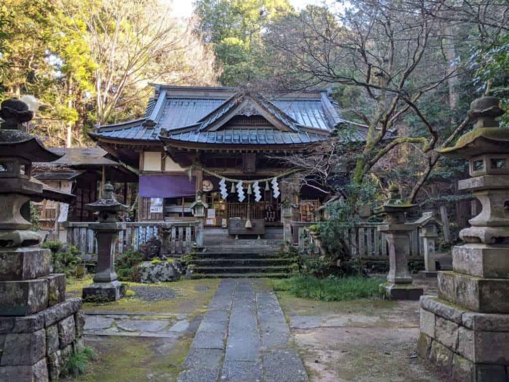 The Main Shrine at Gosho Komagataki