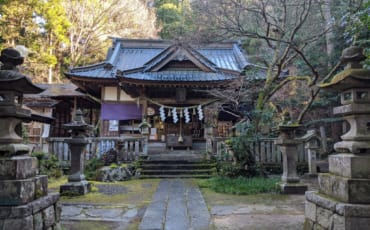 The Main Shrine at Gosho Komagataki