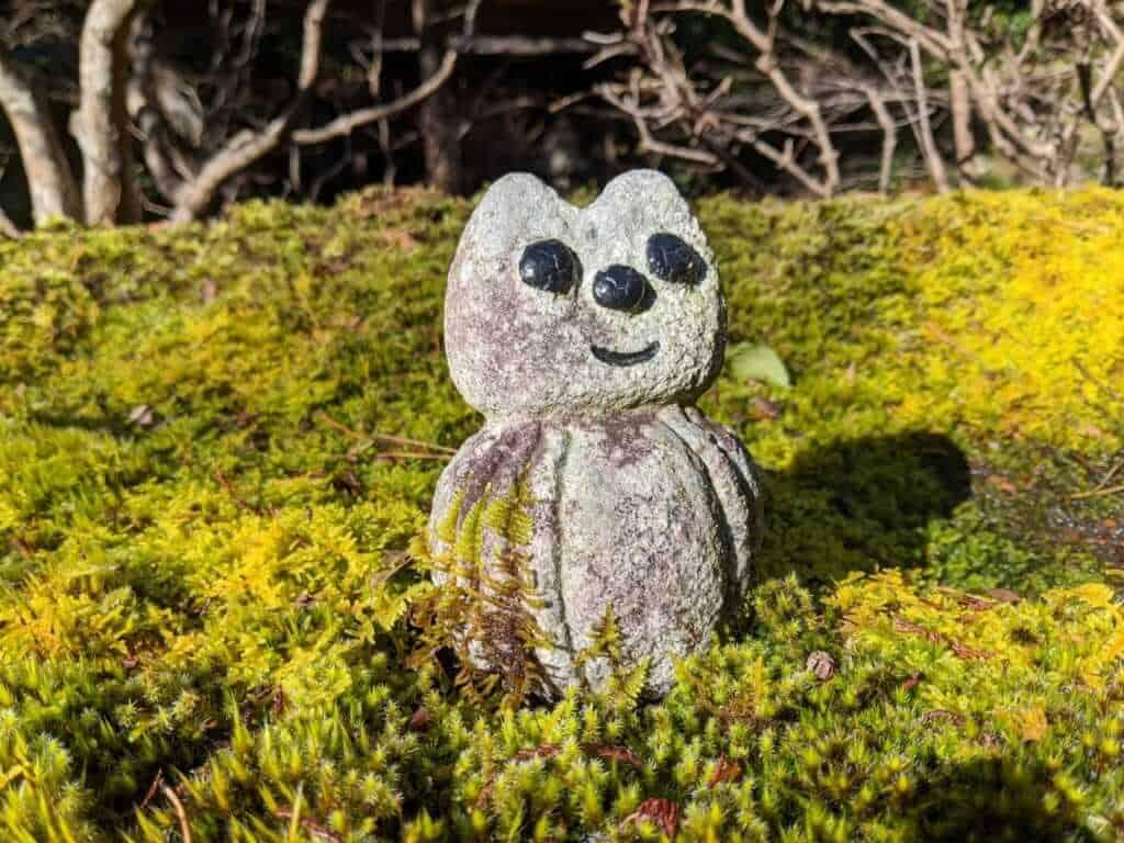 A Forest Creature at Gosho Komagataki Shrine
