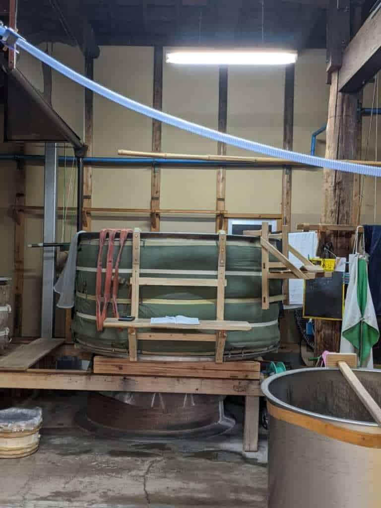 Sake Brewing Vats