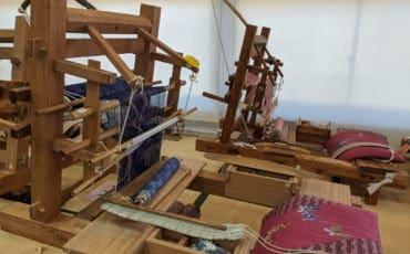 Traditional Looms in Yuki, Ibaraki