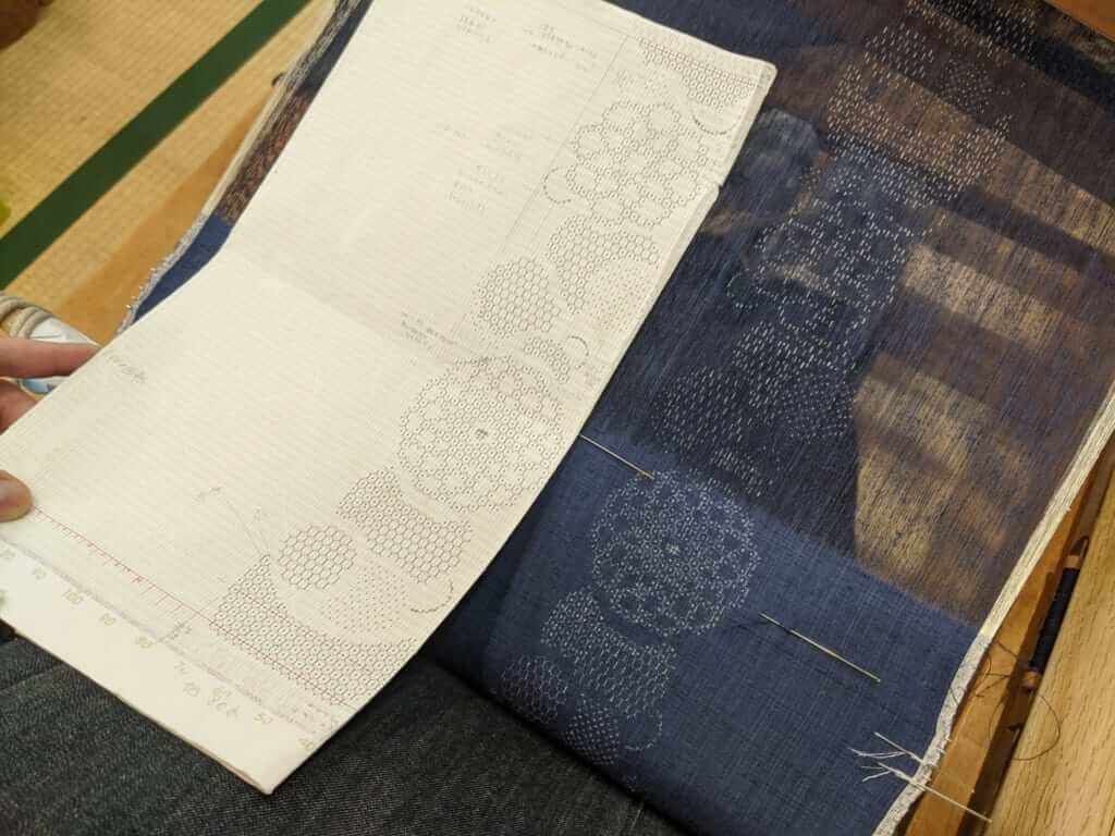 A Pattern for Making Silk in Yuki, Ibaraki