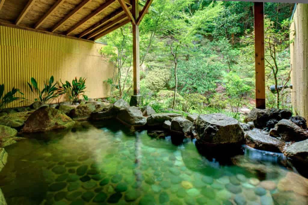 Onsen at Tsukubasan Edoya