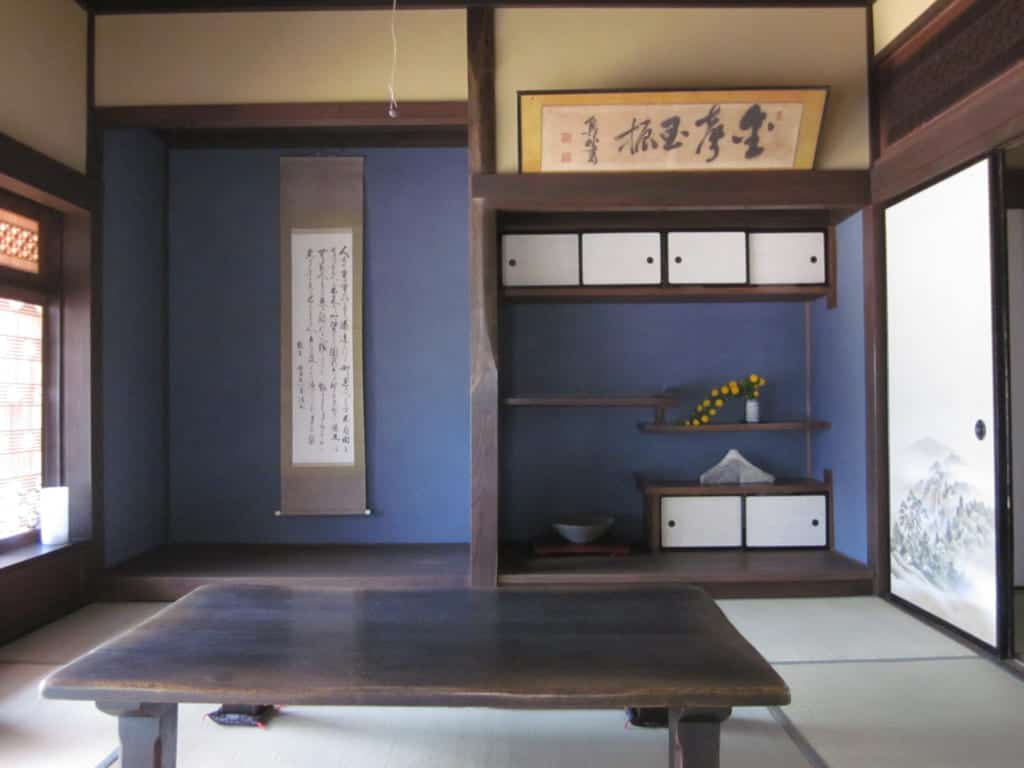 Tatami Room in a Farmstay in Sakuragawa