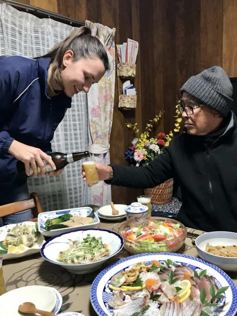 Food experience in Ojika