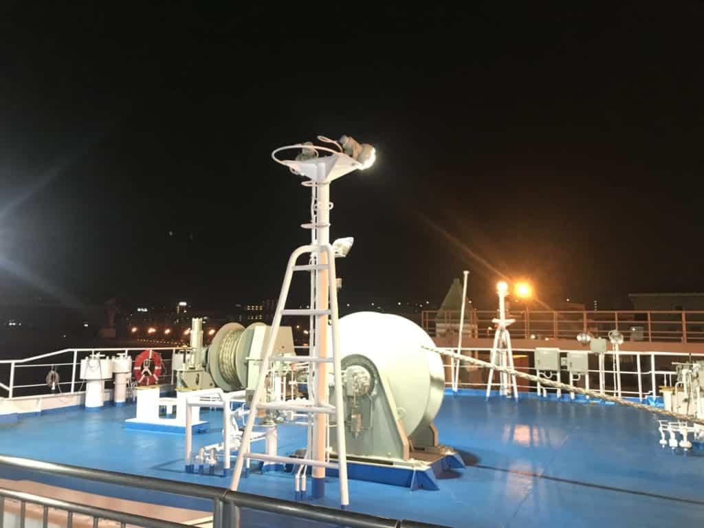The night ferry boat to Ojika