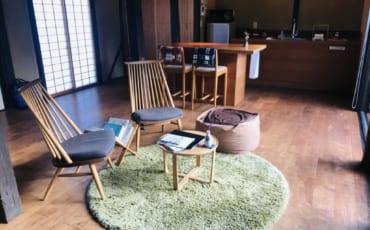 Inside a traditional Japanese kominka