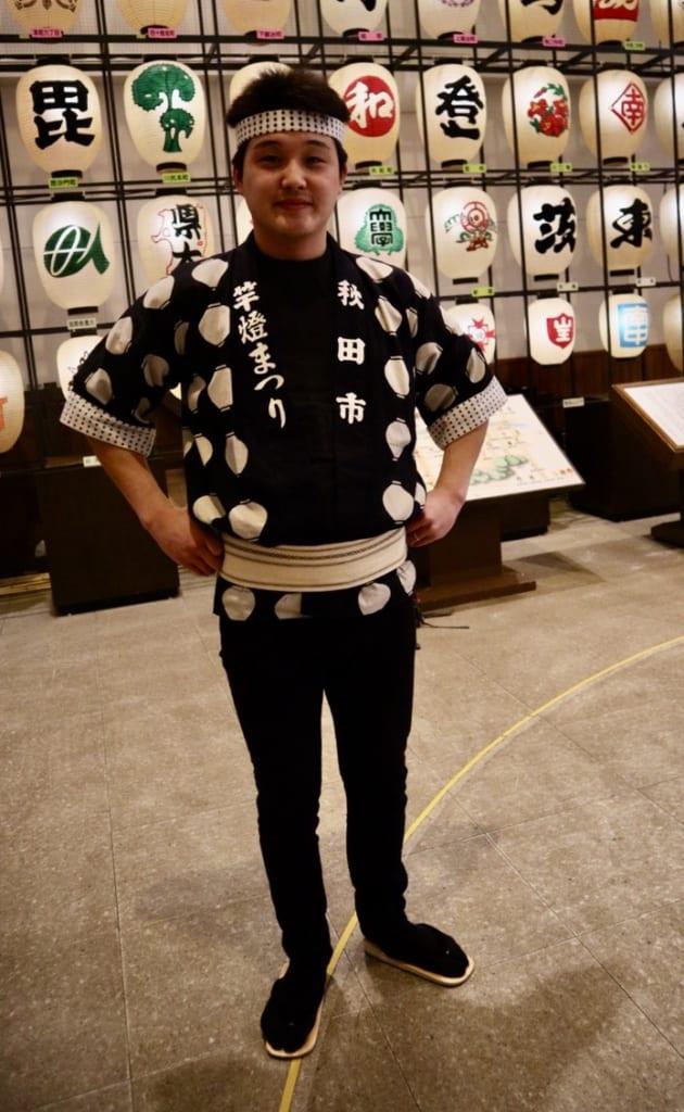 Toshigi from Akita Kanto Centre
