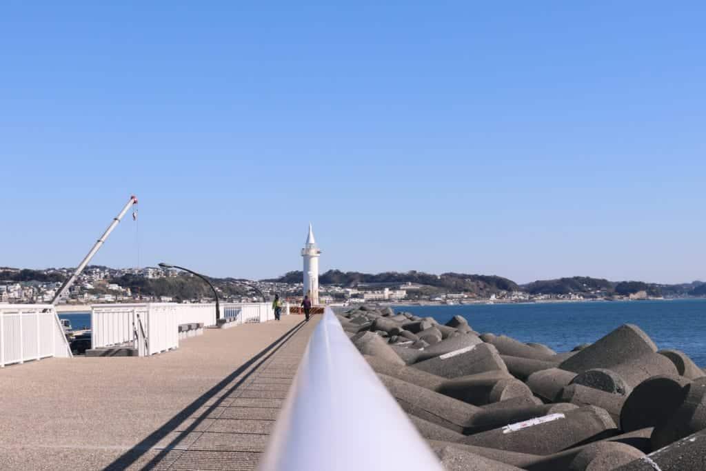 Enoshima Yatch Harbour in Enoshima, Fujisawa, Kanagawa, Japan