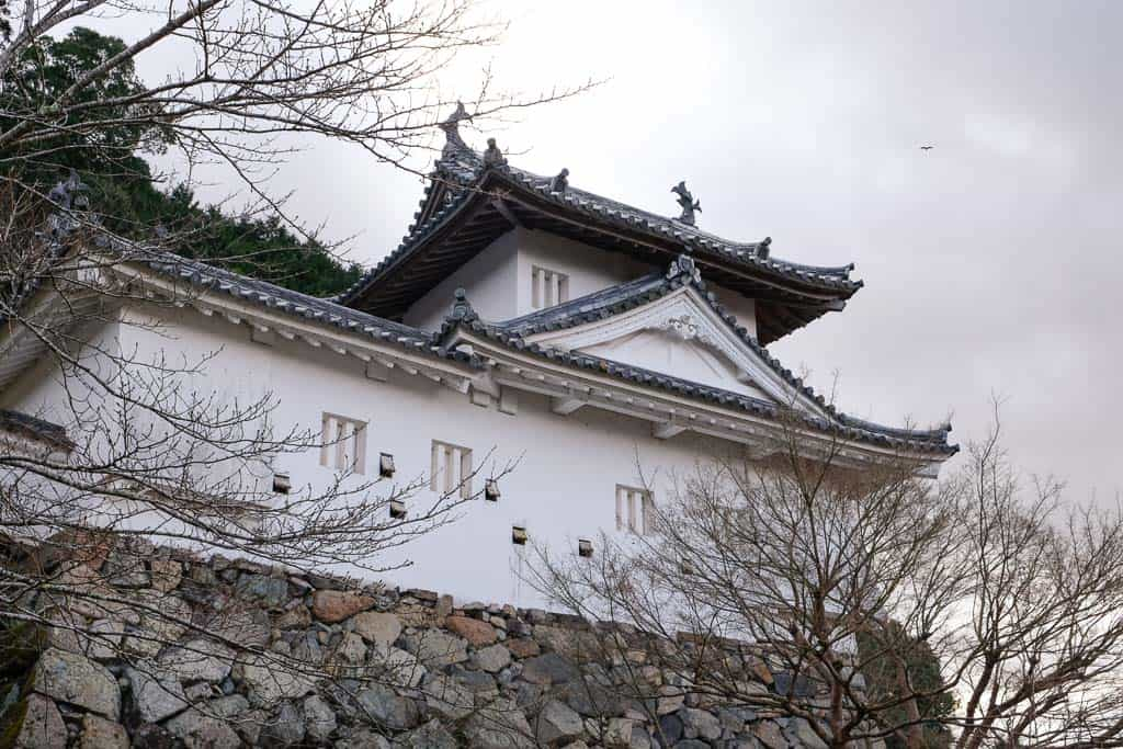 Traditional Japanese Castle in Hyogo, Japan