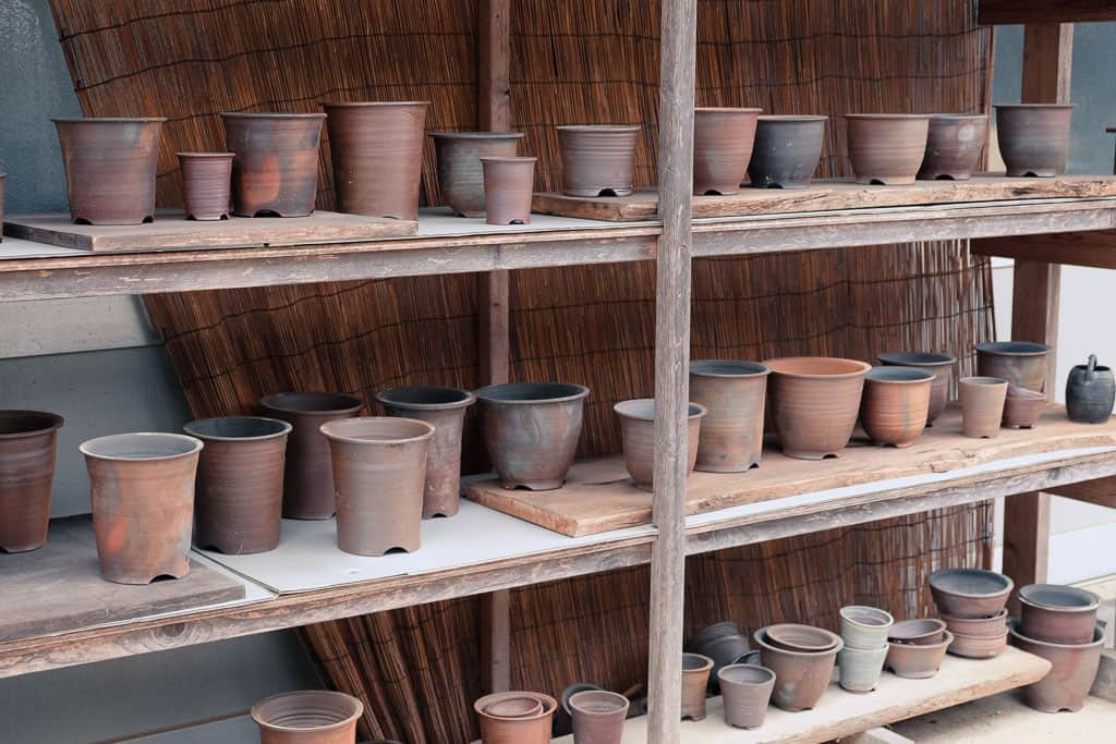 Japanese Pottery Craft Culture in Hyogo's Tamba Ware