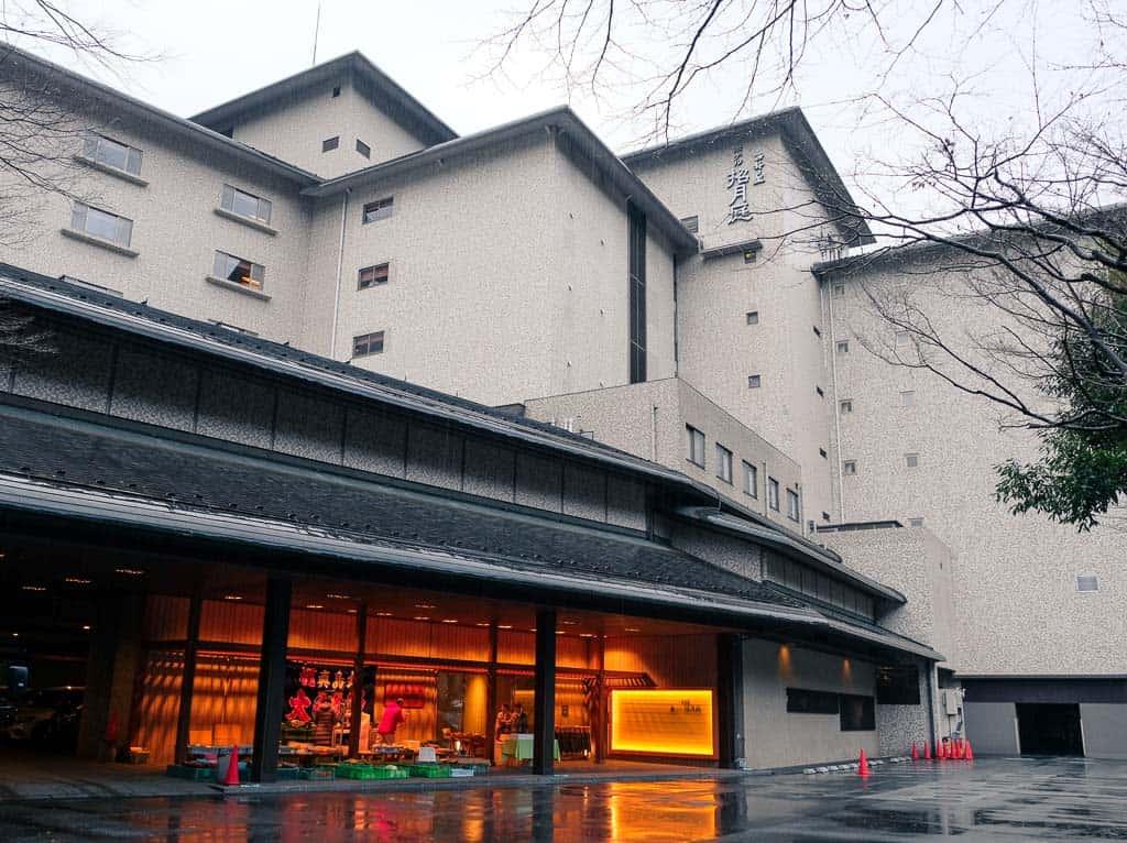 Luxury Hotel accommodations at Nishimuraya Hotel Shogetsutei in Kinosaki Onsen, one of Japan's top hot spring towns