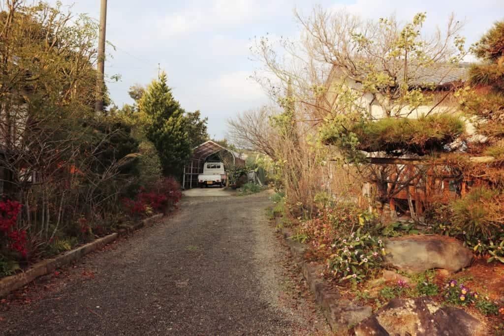 Old samurai house in Izumi, Kagoshima, Japan