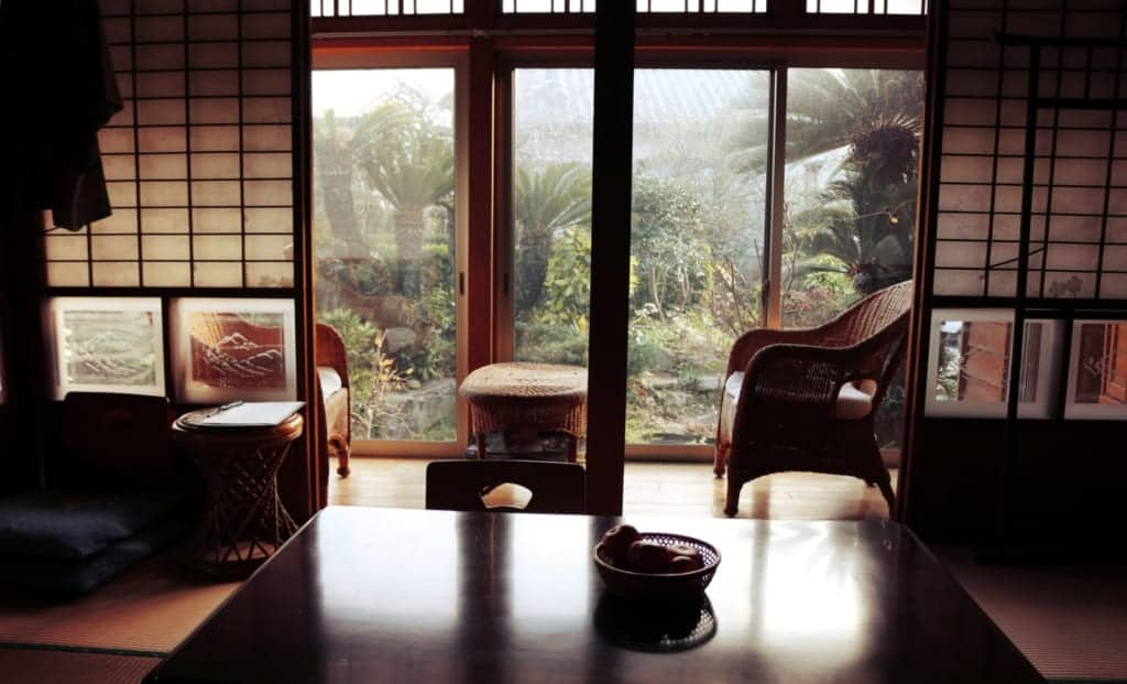 Old traditional house in Izumi, Kagoshima, Japan