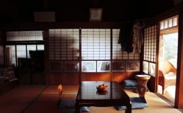 Old traditional house in Izumi, Kagoshima, Japan