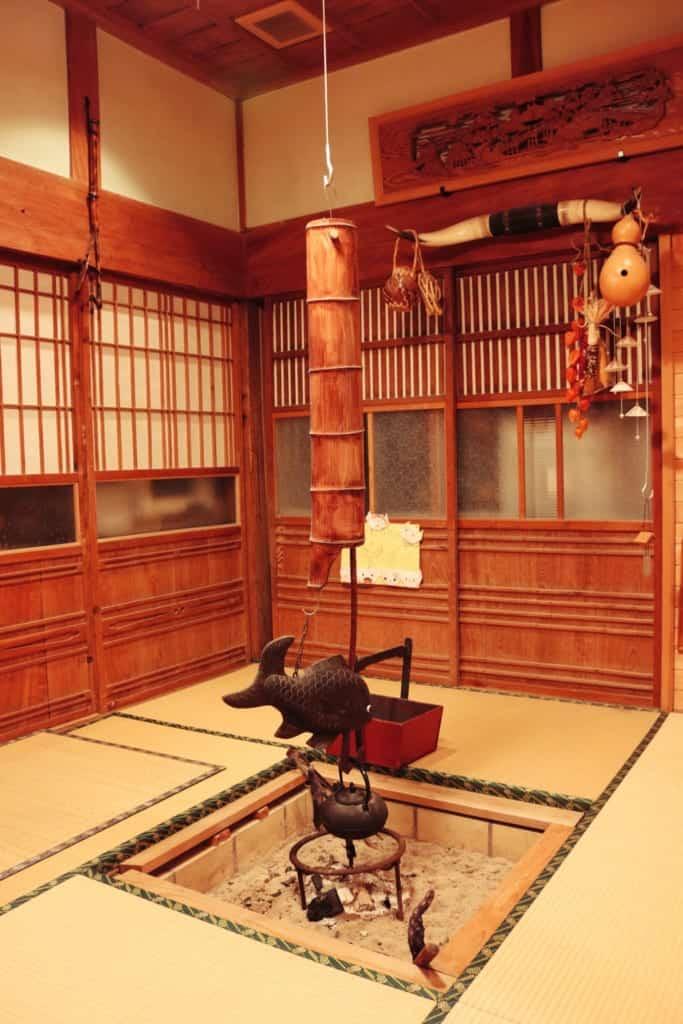 Japanese Traditional house in Izumi, Kagoshima, Japan