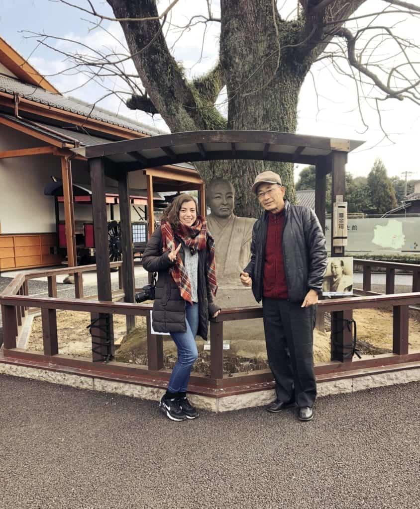 Farewell in Izumi, Kagoshima, Japan